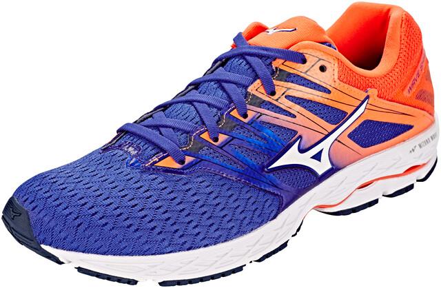 Shoes Mizuno Wave 2 Reflex Herren Shadow Bluewhitenasturtium 80wOPnkX